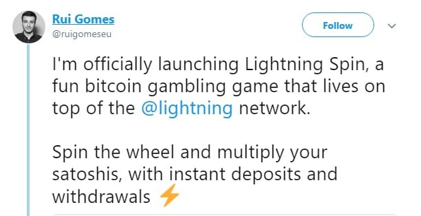 Lightning Spin is Released