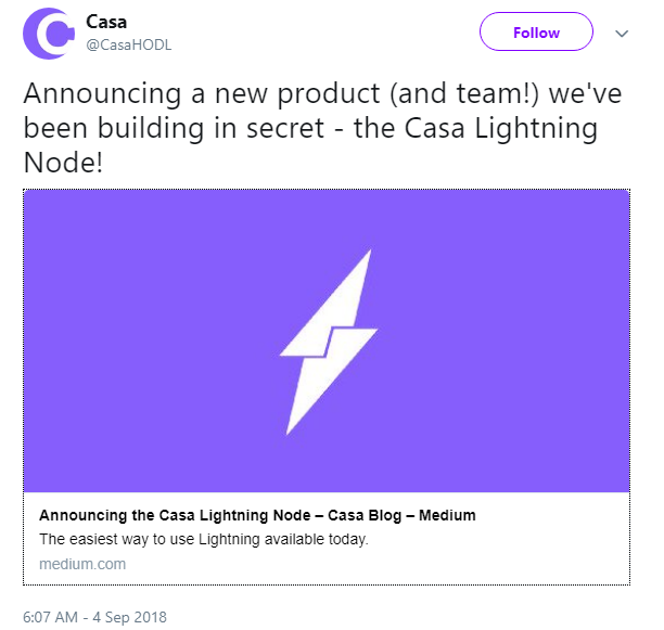 Usd lightning network continues