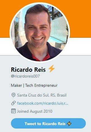 Ricardo Reis via Twitter
