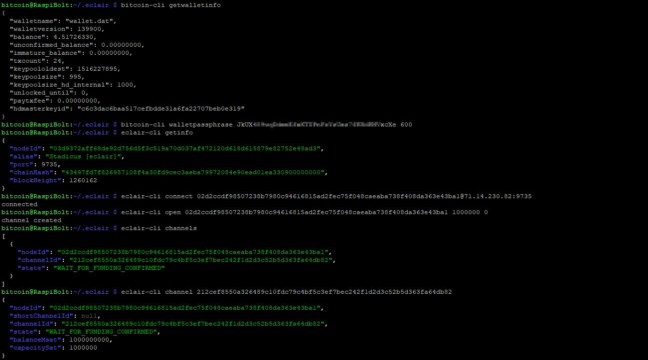 Lightning Network Node on Raspberry Pi