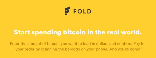 Fold via Homepage