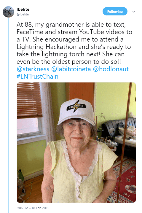 lbelite Grandma via Twitter