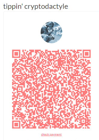 Tippin QR-code via My Tippin Page
