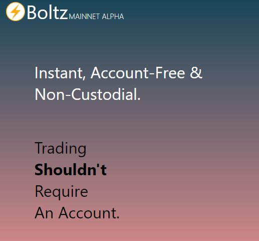 Boltz via Homepage