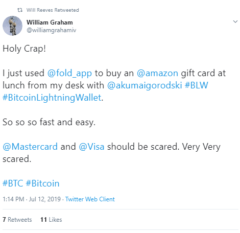 Growing Hype Around Fold Dapp via Twitter