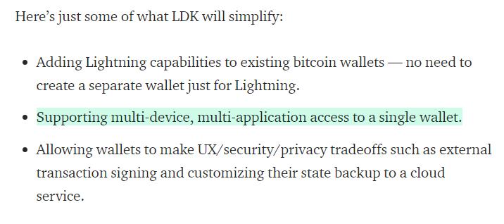 Square Crypto LDK via Medium