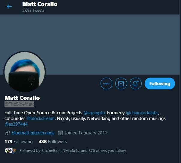 Matt Corallo - Blockstream Co-Founder